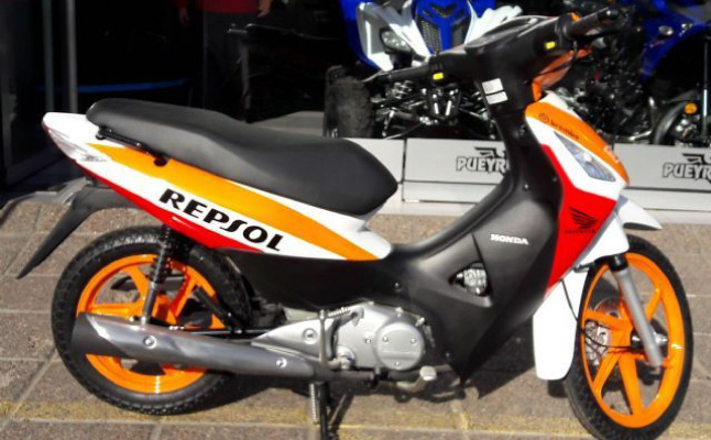 Honda BIZ 125 Repsol 2016